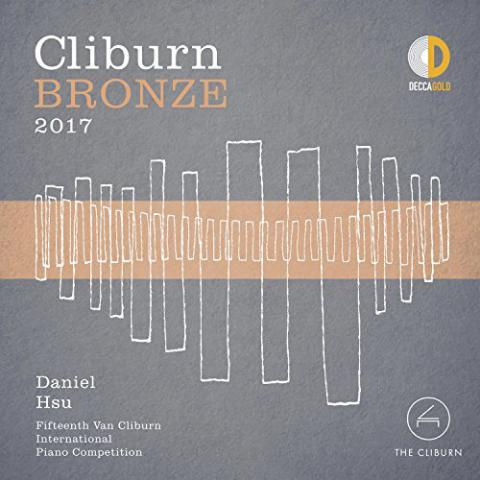 Cliburn Bronze CD cover