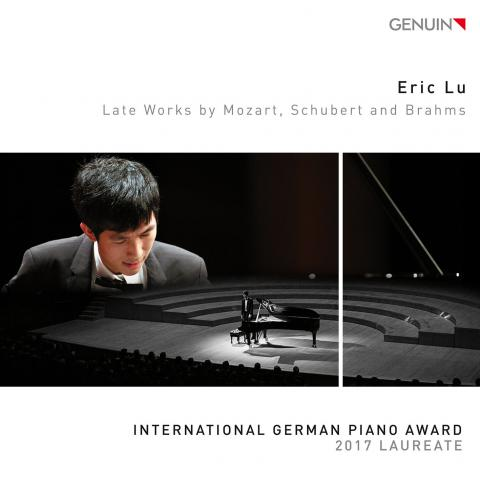 Eric Lu - CD Late Works, Mozart, Schubert, Brahms