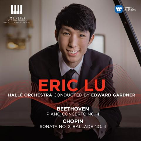 CD Cover - Eric Lu and the Hallé Orchestra