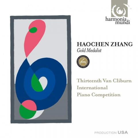 Haochen Zhang CD - 13th Van Cliburn International Piano Competition