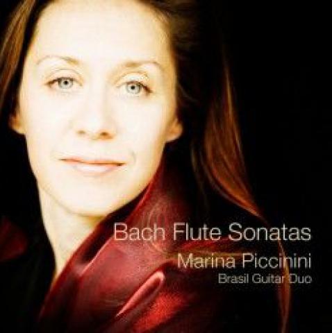 Marina Piccinini CD - Bach Flute Sonatas
