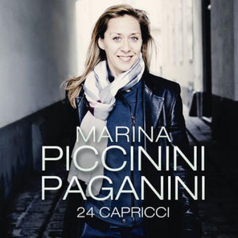 Marina Piccinini CD - Paganini 24 Capricci