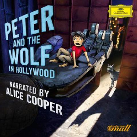 Peter and the Wolf in Hollywood - CD cover
