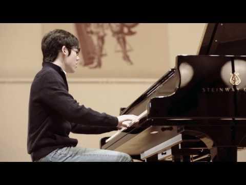 Haochen Zhang records his first studio album