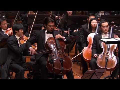 Qigang CHEN Reflet d'un temps disparu Gautier Capucon, Myung Whun Chung, NCPA Orchestra